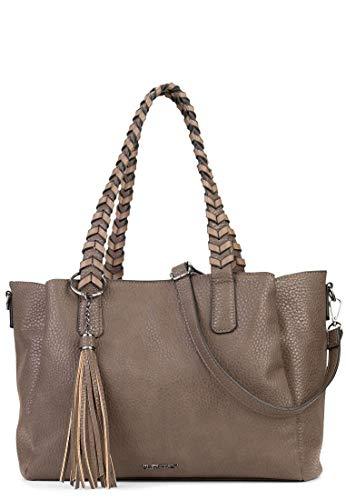 SURI FREY Shopper Piggy Damen Handtaschen Uni schlamm 950 One Size -