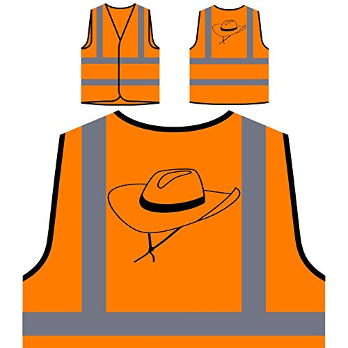 sierte High Visibility Orange Sicherheitsjacke Weste s754vo ()