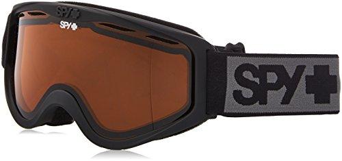 Spy Cadet Matte Black Skibrille Persimmon, one Size