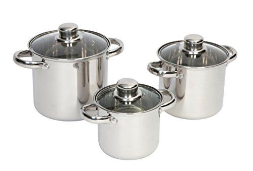 Camp Gear Küche AC Töpfe Royal mehr 3Edelstahl Silver