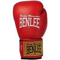 Benlee Rocky Marciano Rodney - Guante de boxeo (PVC), color rojo/negro, talla 16