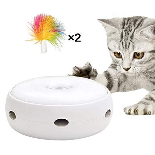 TiooDre Gato Juguete Interactivo Gato eléctrico Coger Pluma...