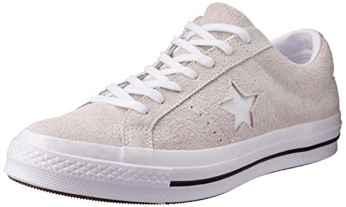 Converse Unisex-Erwachsene Lifestyle One Star Ox Suede Fitnessschuhe, Weiß (White/White/White 100), 39.5 EU - Ferrari Suede Sneakers