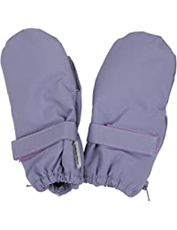 mikk-line Baby Girls' Fäustlinge Mittens, Blau (Blue Ice Purple 702), One Size