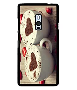 PrintVisa Coffee Addict High Gloss Designer Back Case Cover for OnePlus 2 :: OnePlus Two :: One Plus 2