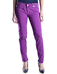 Dolce E Gabbana Femme MCBI099254O Violet Coton Jeans