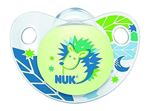 NUK 1 Sucette Phosphorescente Silicone,