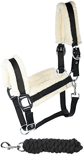 Harry's Horse 31000911-05cob Halfter Set Soft - Cob, M, schwarz