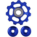 Imported 11T MTB Bike Bicycle Rear Derailleur Guide Roller Jockey Wheel Pulley Blue