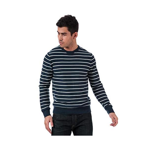 Levi's – Sudadera clásica para hombre, diseño de rayas, color azul