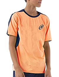 Bull padel Camiseta BULLPADEL IUNET Naranja Fluor NIÑO