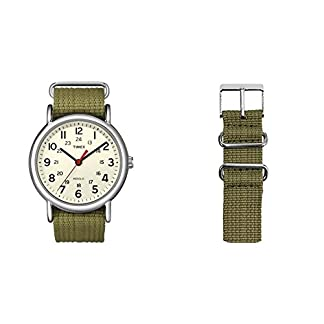 Reloj Timex Unisex T2N651 + Correa para Reloj TW7C05700