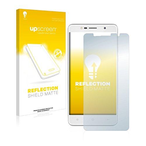 upscreen Entspiegelungs-Schutzfolie kompatibel mit Haier Leisure L7 - Anti-Reflex Bildschirmschutz-Folie Matt