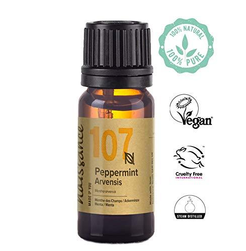 Naissance Peppermint/Ackerminze/Mentha Arvensis (Nr. 107) 10ml 100% reines ätherisches Minzöl -