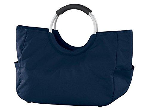 Damen Shopper Handtasche ca. 17 L max. 15 kg tragbar Farben wählbar Dunkelblau