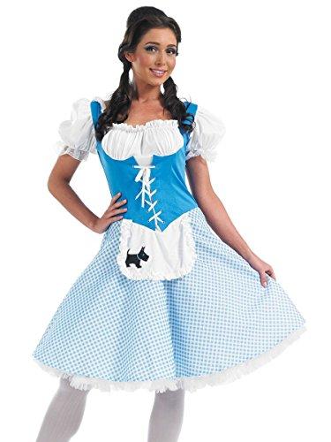 Kostüm Womens Adult Dorothy - Dorothy - Adult Costume Lady: M (UK: 12-14)