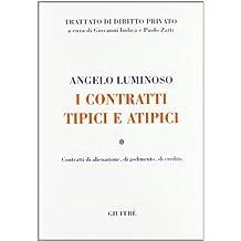 I contratti tipici e atipici. Contratti di alienazione, di godimento, di credito (Trattato di diritto privato)