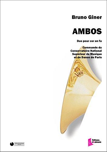AMBOS   2 HORNS   BOOK