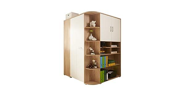 Cabina Armadio Con Xbox One : Ticaa apos bege cabina armadio corner in quercia sonoma bianco