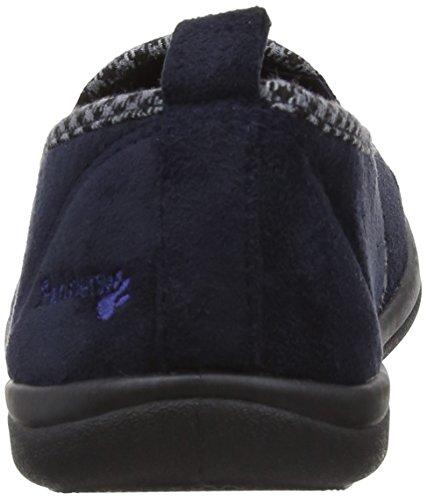 Padders - Lewis, Pantofole A Casa da uomo Blu (navy)