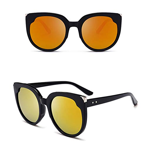 TDPYT Sonnenbrille Frauen Cat Eye Vintage Classic Big Frame Sonnenbrille Shopping Reise Uv400