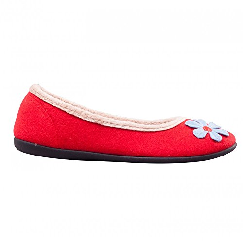 Padders , Chaussons pour femme Rouge rouge Rouge - rouge