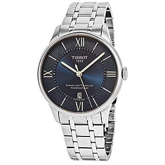 Tissot Reloj Analógico para Hombre de Automático con Correa en Acero Inoxidable T0994071104800