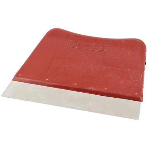sourcingmap-a14040200ux1065-plastica-rosso-lama-in-acciaio-inox-155-cm-larghezza-mastice-di-rimozion