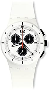 Swatch Reloj de cuarzo Unisex Why Again 42 mm de Swatch