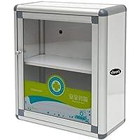 Aluminiumlegierung Erste Hilfe Kit Box Wandhalterung leer Schrank für Büro oder Zuhause Notfall preisvergleich bei billige-tabletten.eu