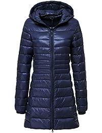 97e33baa82 Piumini Lunghi - Giacche e cappotti / Donna: Abbigliamento - Amazon.it