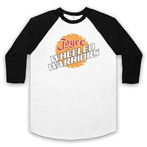 Inspiriert durch Jayce And The Wheeled Warriors Logo Unofficial 3/4 Hulse Retro Baseball T-Shirt Weis & Schwarz