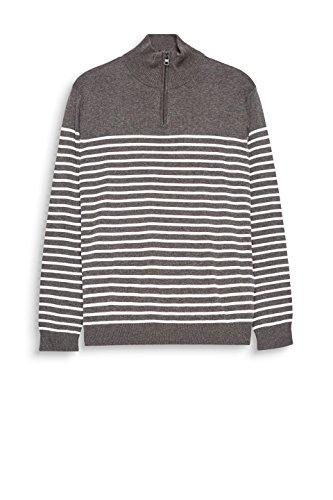 ESPRIT Herren Pullover Grau (Dark Grey 020)