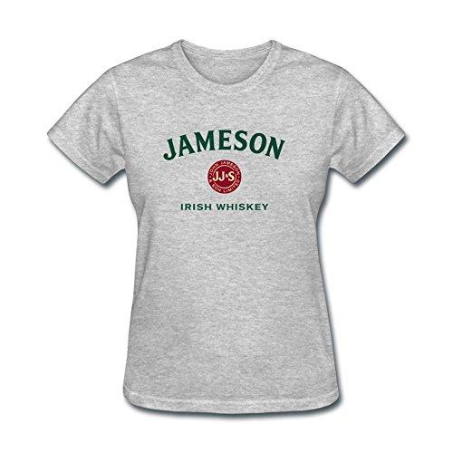 womens-jameson-logo-short-sleeve-t-shirt-grey-small