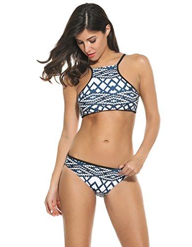 Bluetime Damen Bikini-Set Weiß