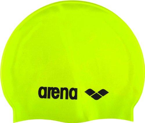 arena Classic Gorro de Natación, Verde (Acid Lime / Black), Única