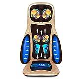 Massaggio Shiatsu Cuscino con calore-schiena, collo e seduta con telecomando-lenisce, rilassa e allevia i dolori