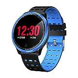 HHRONG 1,3 Runde Hd Smartwatch, wasserdicht IP68 Fitness-Monitor mit Schlaf-Monitor, Herzfrequenz-Monitor, Laufen, Klettern und Klettern, B, L