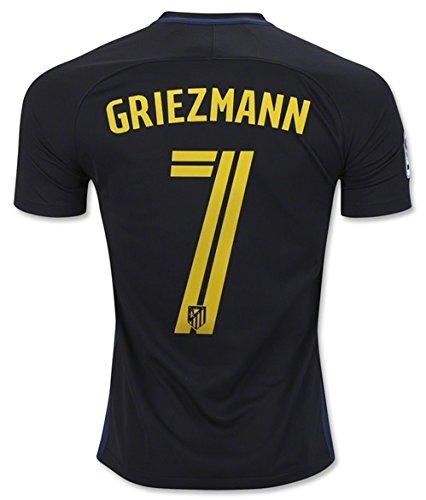 Nike 2016–2017Atletico Madrid T-shirt de football, pour matchs en extérieur, Griezmann 7, m