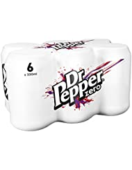 Dr Pepper Zero 6 x 330 ml