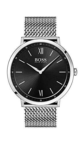 Hugo Boss Watch Orologio Analogico Quarzo Uomo con Cinturino in Acciaio...
