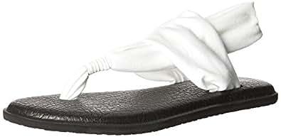Sanük Yoga Mat, Sandales femmeBlanc (White), 37 EU (6 US)