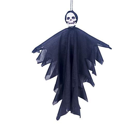 Splrit-MAN Halloween deko Gespenst Geist Gruselig Hängend Türvorhang 50cm Figur Ghost Braut für Halloweendeko Halloween Dekoration