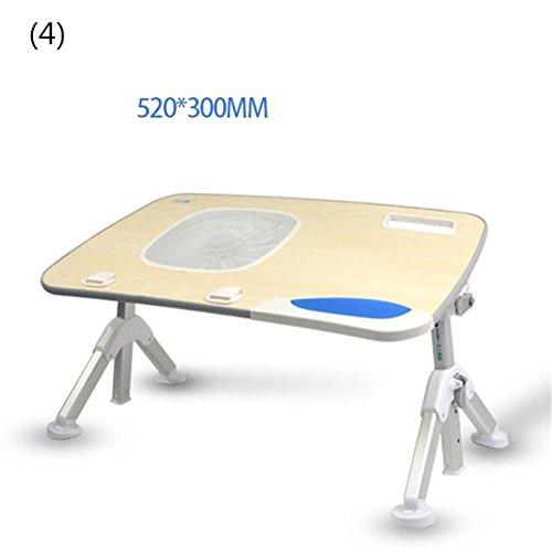 Multifunktions Höhenverstellbar Lapdesk Bett Computer Schreibtisch Klapp Tilt Einstellen Faule Menschen Laptop Tisch Student Notebook Stand , 4 -