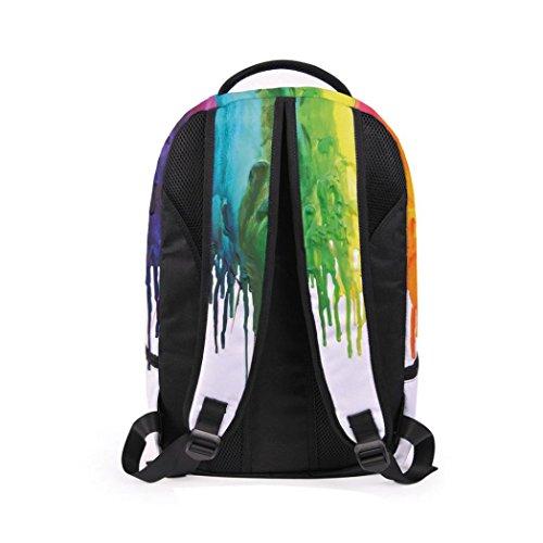 Lanspo Rucksack Sport Beutel Frauen Mann 3D Galaxie Spielraum Schultaschen Rucksack Rucksack Schulter Bookbag Schule Beutel kampierender Beutel C