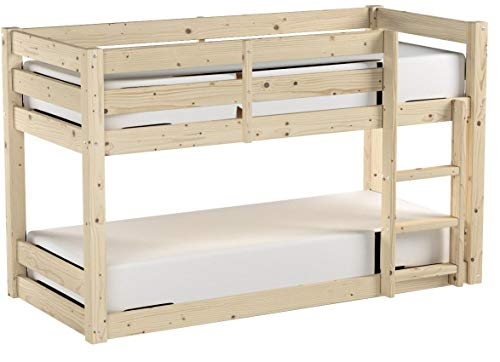 Strictly Beds Stockton Bunk Bed Bunkbed - 3ft single wooden bunkbed - HEAVY DUTY, can be used by adults