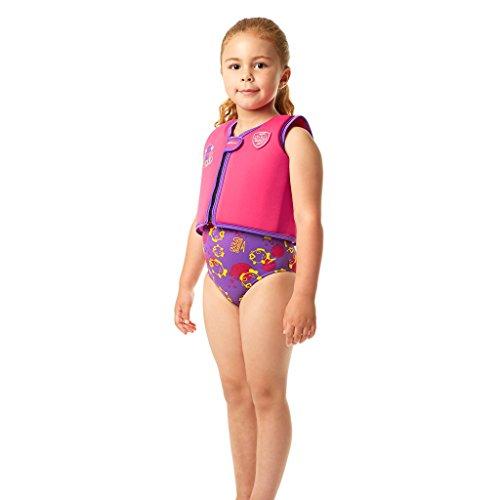 Speedo Unisex - Kinder Schwimmweste Sea Squad, raspberry Fill/lila regen, 2-4, 8-0919492142
