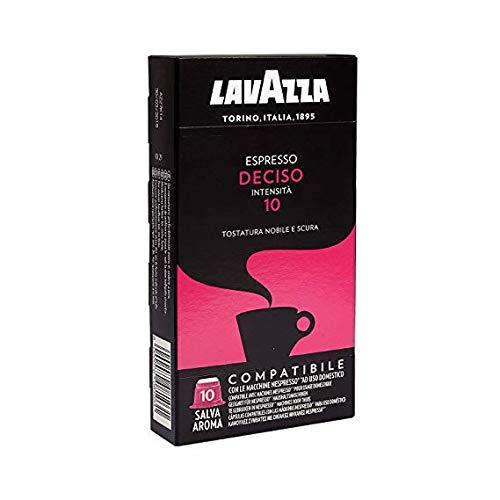 400 capsule caffè Lavazza compatibili NESPRESSO MISCELA DECISO + TAZZA BELOTTI DISTRIBUTION PERSONALIZZATA IN REGALO
