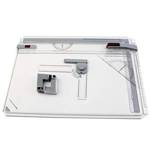 A3 Zeichenbrett Tisch mit Parallelbewegung einstellbaren Winkel Art Zeichnung Werkzeugen -