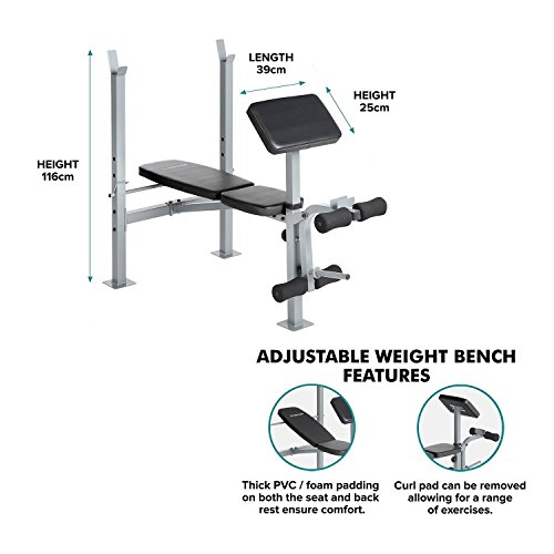 Generic * BLE Gewicht Bench mit Gewicht Training Fitness Verstellbare Wei Verstellbar Gewicht...